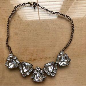 Rhinestone statement necklace!